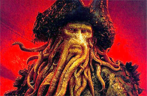 Davy Jones - Pirates of the Caribbean