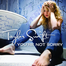 You're Not Sorry - Taylor Swift