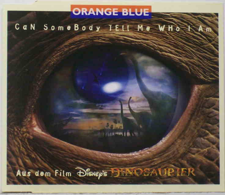 Can Somebody Tell Me Who I Am - Orange Blue