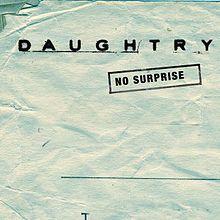 No Surprise - Daughtry