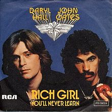 Rich Girl - Hall & Oates