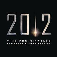Time For Miracles - Adam Lambert