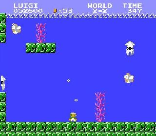 Underwater Stages - Super Mario