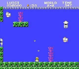 Underwater Stages - Super Mario