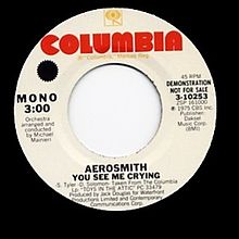 You See Me Crying - Aerosmith