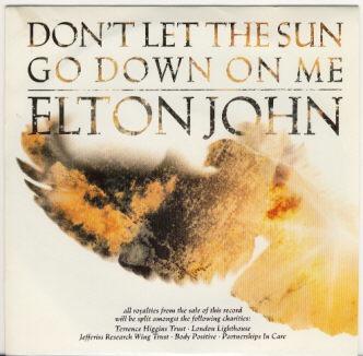 Don't Let the Sun Go Down on Me - Elton John