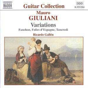8 Variations Op. 6 - Mauro Giuliani
