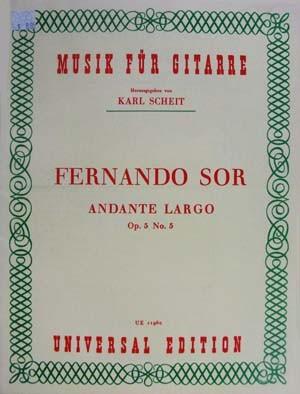 Andante Largo - Fernando Sor