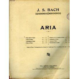 Aria - J. S. Bach