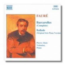 Barcarolle No. 6 In E Flat Op. 70 - G. Faure