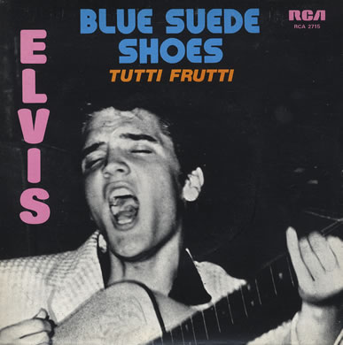 Blue Suede Shoes - Elvis Prestley