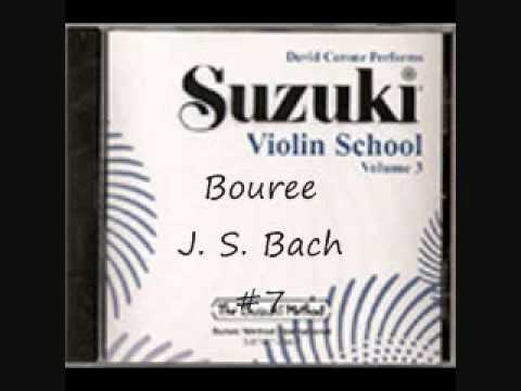 Bouree - J. S. Bach