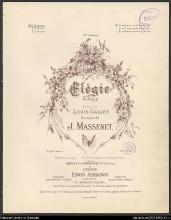 Elegie - Jules Massenet