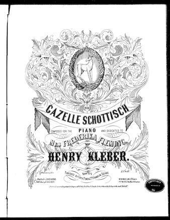 Gazelle Schottisch - Henry Kleber