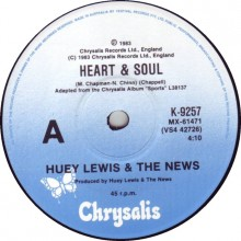 Heart and Soul - Huey Lewis