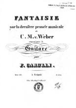 La Folle Op. 363 - Ferdinando Carulli
