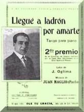 Llegue A Ladron Por Amarte - Juan Maglio