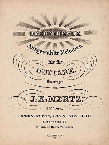 Martha Op. 16 - J. K. Mertz
