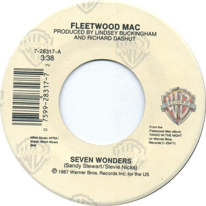 Seven Wonders - Fleetwood Mac