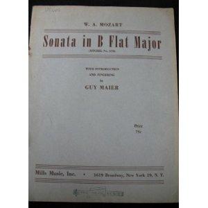 Sonata In A Major - W. A. Mozart