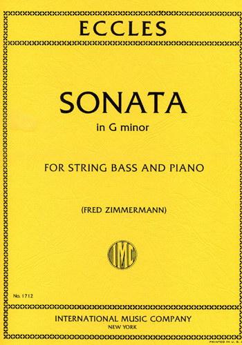 Sonata In G Minor - Henri Eccles