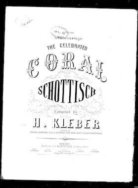 The Opera Schottisch - Henry Kleber