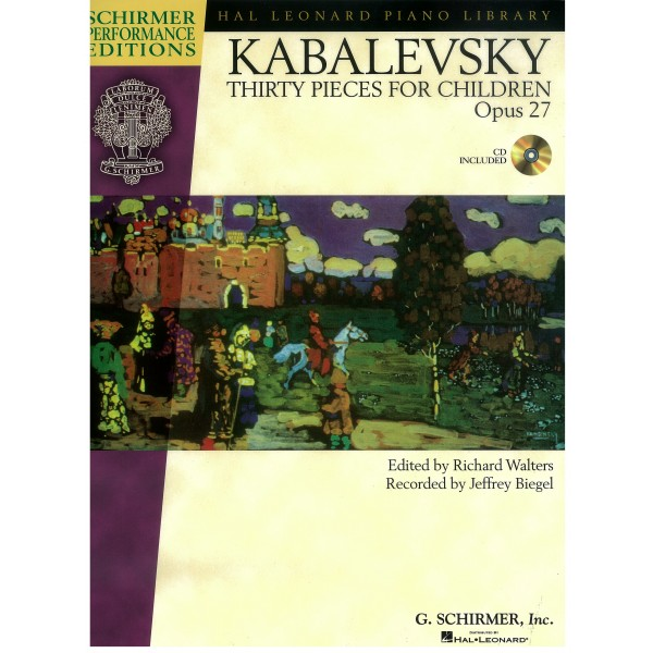 Toccatina From Children's Pieces Op. 27- Dmitri Kabalevsky