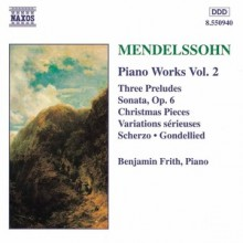 Variations For The Planoforte - F. M. Bartholdy