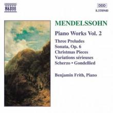 Variations For The Planoforte - F. M. Bartholdy