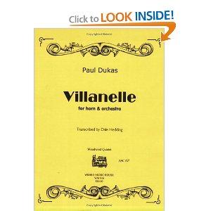 Villanelle - Paul Dukas