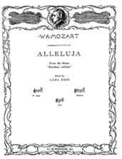 Virtual Sheet Music Test - W. A. Mozart
