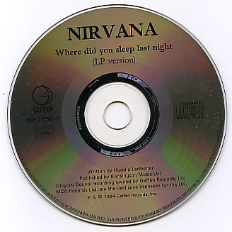 Where Did You Sleep Night - Nirvana