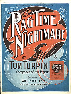 A Rag Time Nightmare - Tom Turpin