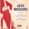 Adios,Muchachos! - Julio Cesar Sanders