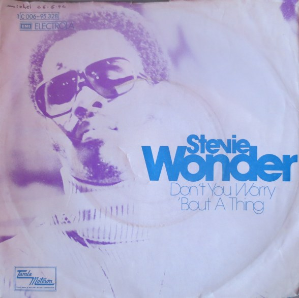 Don't You Worry 'bout a Thing - Stevie Wonder