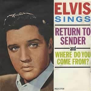 Return to Sender - Elvis Presley