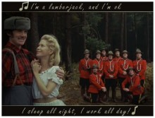 The Lumberjack Song - Monty Python