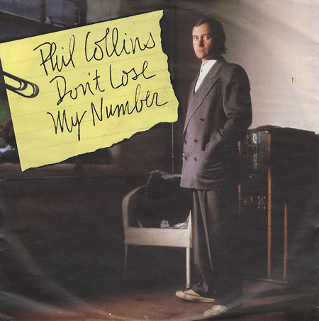Don't Lose My Number - Phil Collins