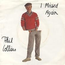 I Missed Again - Phil Collins