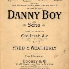 Danny Boy - Frederic Weatherly