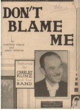 Don't Blame Me - Jimmy McHugh