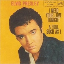 I Need Your Love Tonight - Elvis Presley