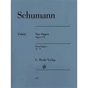 4 Fugues, Op.72 - Schumann
