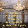 Adagio, D.349 - Schubert