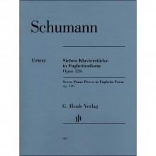 Seven Pieces in Fughettenform, Op.126 - Schumann