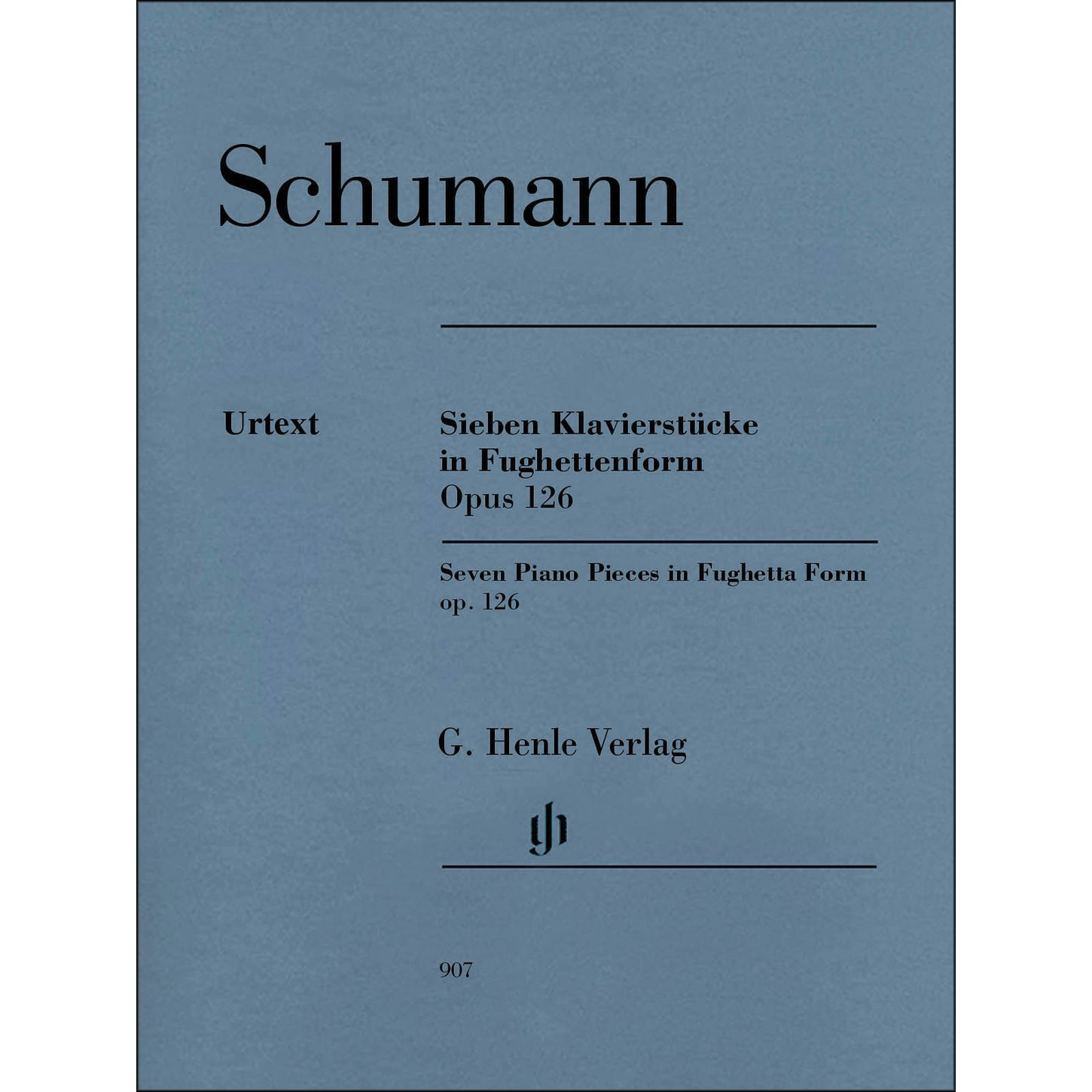 Seven Pieces in Fughettenform, Op.126 - Schumann