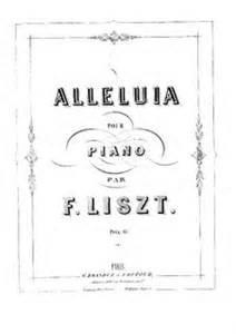 Alleluia et Ave Maria, S.183 - Liszt