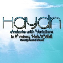 Andante with Variations in f minor - Haydn