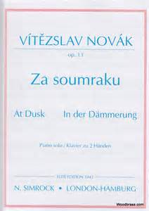 At Dusk, Op.13 - Novak