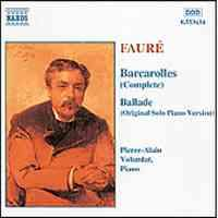 Barcarolle No.5, Op.66 - Faure